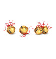 christmas jingle bells vector image
