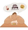 Proper nutrition vector image