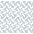 seamless pattern of volumetric arrows on vector image vector image