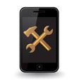 Smart Phone Repair vector image