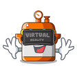 virtual reality electric rice cooker isolated on vector image