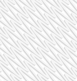 White diagonal wavy lines seamless pattern vector image
