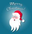 santa claus cartoon character vector image