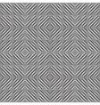 Design seamless monochrome geometric pattern vector image