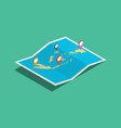 explore indonesia nation with maps pin tag vector image