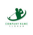 golfer design vector image vector image
