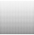 halftone dots background in the form of squares vector image vector image