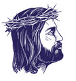 jesus christ the son of god symbol of vector image vector image