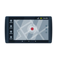 modern taximeter device taxi service electronic vector image vector image