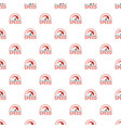 speed dashboard pattern seamless vector image vector image