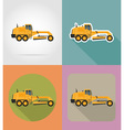 transport flat icons 29 vector image vector image