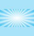 abstract blue sun rays background summer sunny 4k vector image vector image