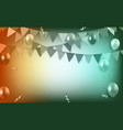 abstract blurred decorative party background vector image vector image