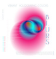abstract colorful blur gradient drop liquid vector image vector image
