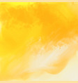 bright yellow watercolor texture background vector image vector image
