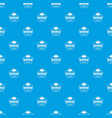 buckle clothing pattern seamless blue vector image