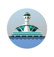 emblem Airport vector image vector image