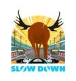 SlowDown vector image vector image