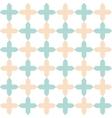 light flat geometrical seamless pattern vector image