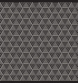 abstract geometric pattern with stripes vector image