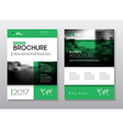 Annual report Brochure with text A4 size c vector image vector image