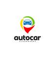 car point logo template designs auto car logo vector image vector image