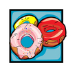 classic graphic icons vector image vector image