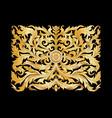 decorative elements in baroque rococo victorian vector image vector image