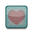 favorites heart icon vector image vector image