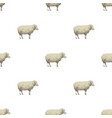 sheep triangle shape pattern backgrounds vector image vector image