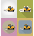 transport flat icons 31 vector image vector image