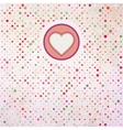 Valentine polka dots EPS 8 vector image
