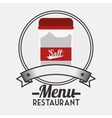 Menu restaurant ingredient vector image vector image