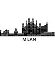 Milan architecture city skyline travel