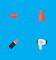 set of simple fashion icons