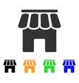 shop building icon vector image