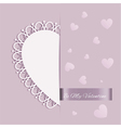 St Valentines Day Greeting Card vector image