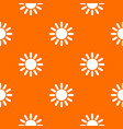 sun pattern seamless vector image vector image