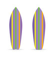 surfboard set extreme vector image vector image