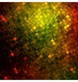 Yellow glitters on a soft blurred EPS 10 vector image vector image