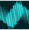 abstract blue lines in motion vector image vector image