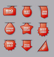 advertising banners and labels vector image vector image
