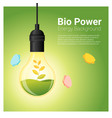energy concept background with bio