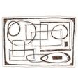 frames - doodles vector image