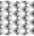 geometric monochrome seamless pattern rhombus vector image vector image