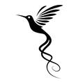 Hummingbird Tattoo vector image vector image