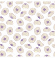 jellyfish seamless background for design vector image vector image