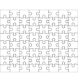 Jigsaw Puzzle template editable blend vector image