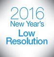new year low resolution vector image vector image