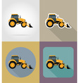 transport flat icons 33 vector image vector image